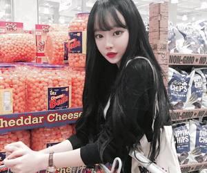 ulzzang, korean, and fashion image