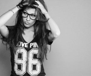 glasses, pretty, and hipster image