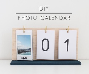 diy, calendar, and cute image