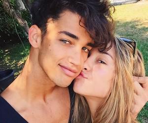 couple, cute, and savannah montano image