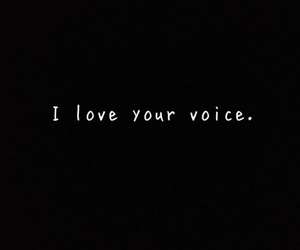 love, voice, and quotes image