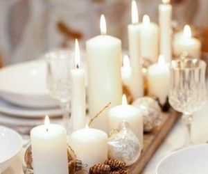 candles, decorations, and lights image