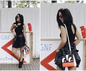 bags, summer, and black image