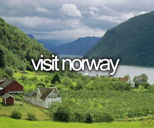 norway, travel, and before i die image