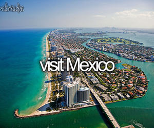 mexico, travel, and bucket list image