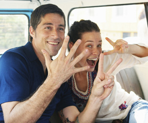 evangeline lilly, lost, and Matthew Fox image