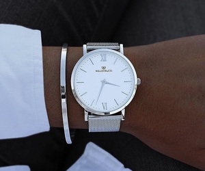 white, watch, and stylé image