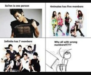 infinite, funny, and kpop image