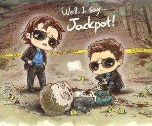 supernatural, dean winchester, and Jackpot image