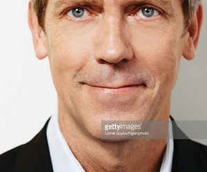 blue eyes, dr house, and hugh laurie image