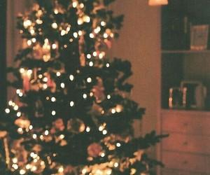 christmas tree, cold, and xmas image