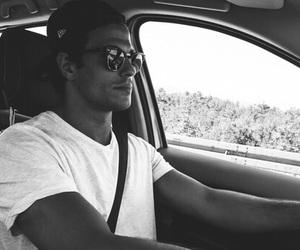 boy, Hot, and car image