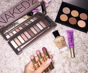 girly, make up, and cosmetics image