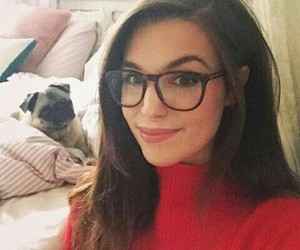 glasses, red, and marzia image