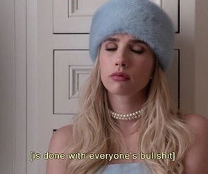 scream queens, emma roberts, and quotes image