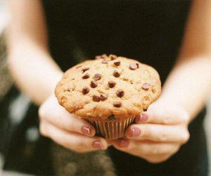 muffin, cupcake, and food image