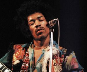 Jimi Hendrix and 60s image