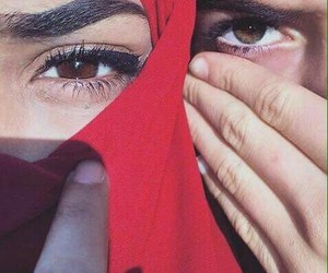 eyes and muslim image