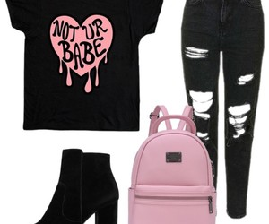 babe, clothes, and look image