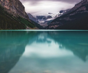 mountains and river image