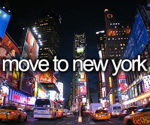 new york, Move, and nyc image