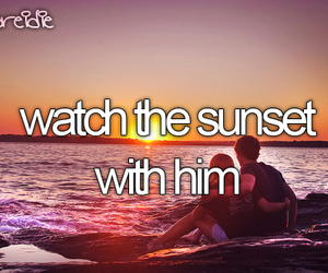 sunset, love, and before i die image