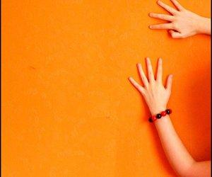 orange and hands image