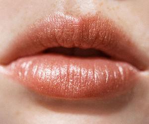 lips, girl, and aesthetic image