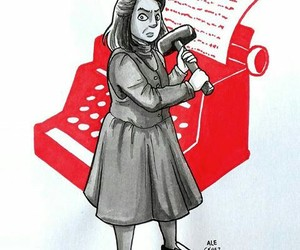annie wilkes, books, and horror image