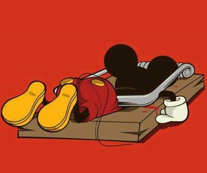 anime, hardware, and mickey image