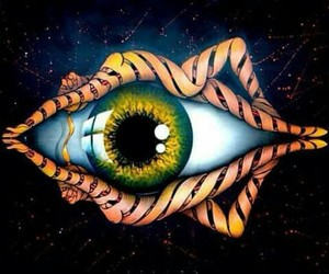 art, eye, and psychedelic image