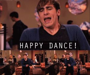 big time rush, kendall schmidt, and happy dance image