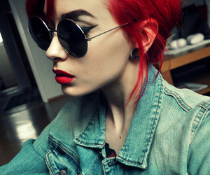 all, blogger, and dyed hair image