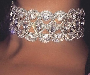 brilliant, silver, and strass image