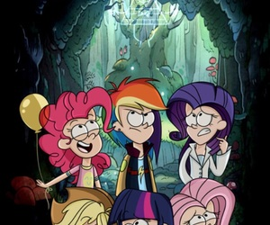 MLP, my little pony, and gravity falls image