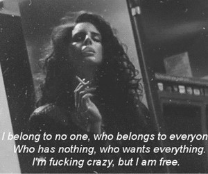 lana del rey, quotes, and ride image