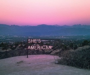 the 1975, pink, and american image