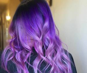 colored hair image