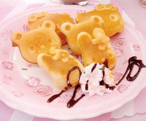 food, kawaii, and pancakes image