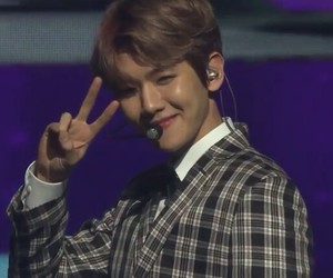 exo, handsome, and smile image