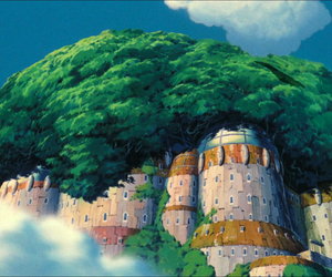 art, movie, and Castle in the Sky image