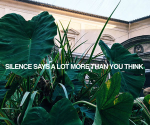 quotes, silence, and alternative image