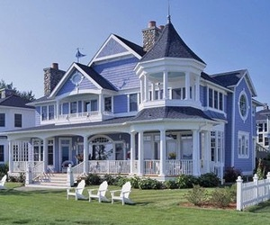 dream home, periwinkle, and house image