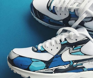 dope, air max 90, and love image
