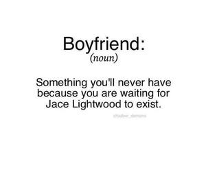 boyfriend, jace, and lightwood image