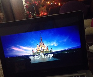 christmas tree, disney, and relax image