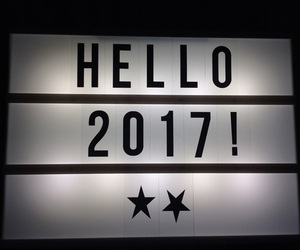 2017, new year, and happy new year image