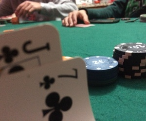 cards, poker, and smile image
