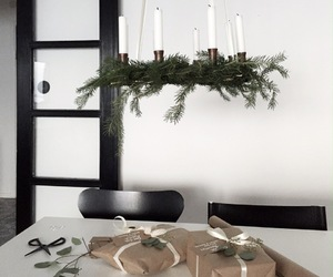 black, christmas, and design image