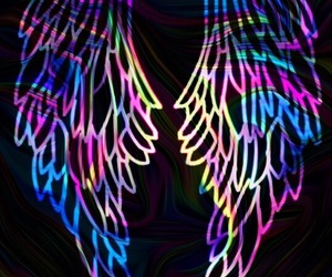 victoria secret, wallpaper, and wings image